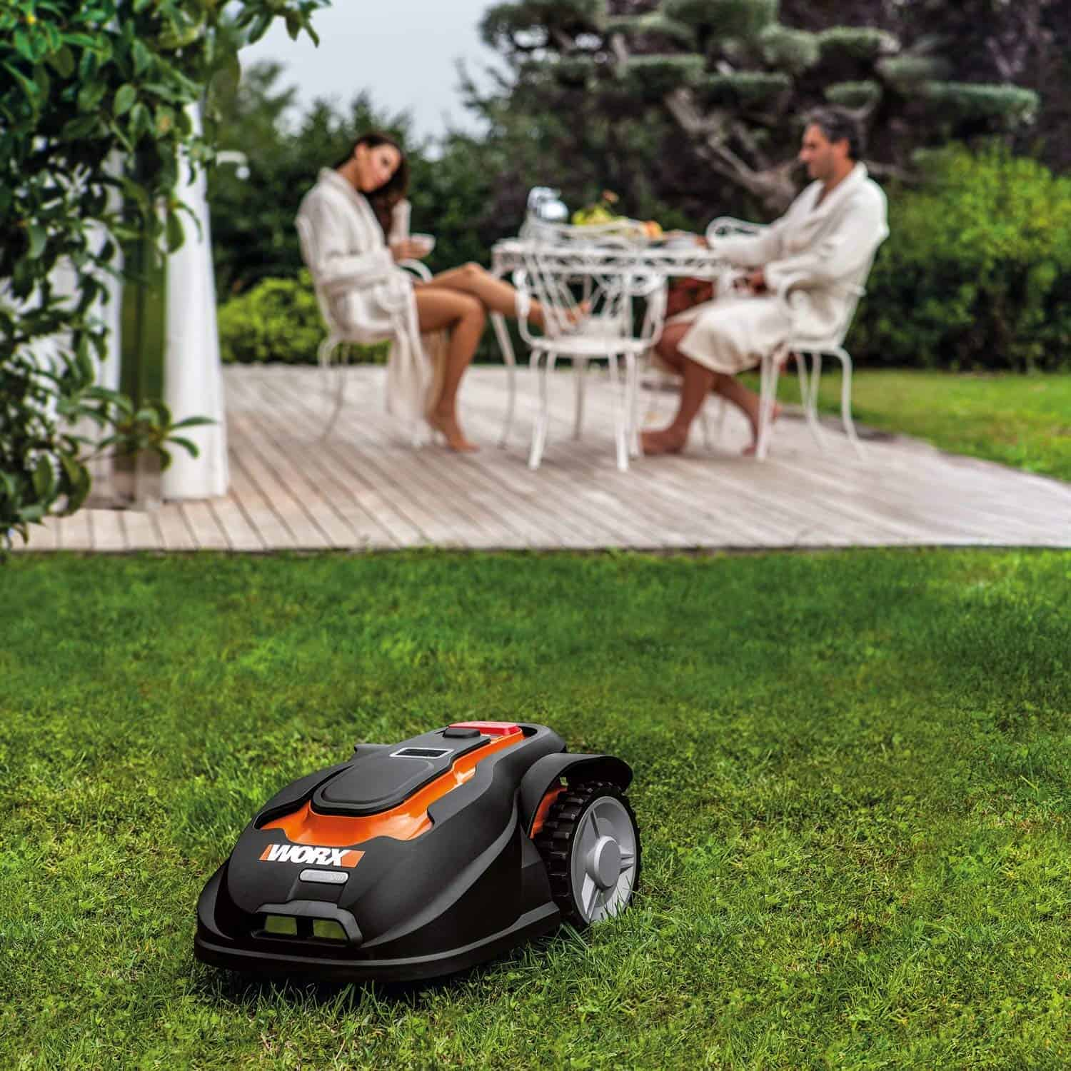 Are robot mowers noisy