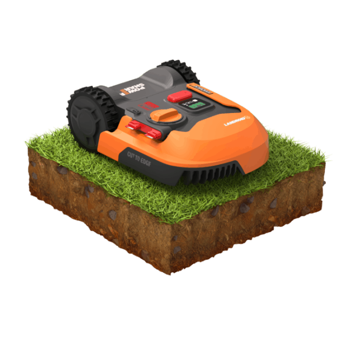 Innovative electronics allow for mowing on hills and slopes
