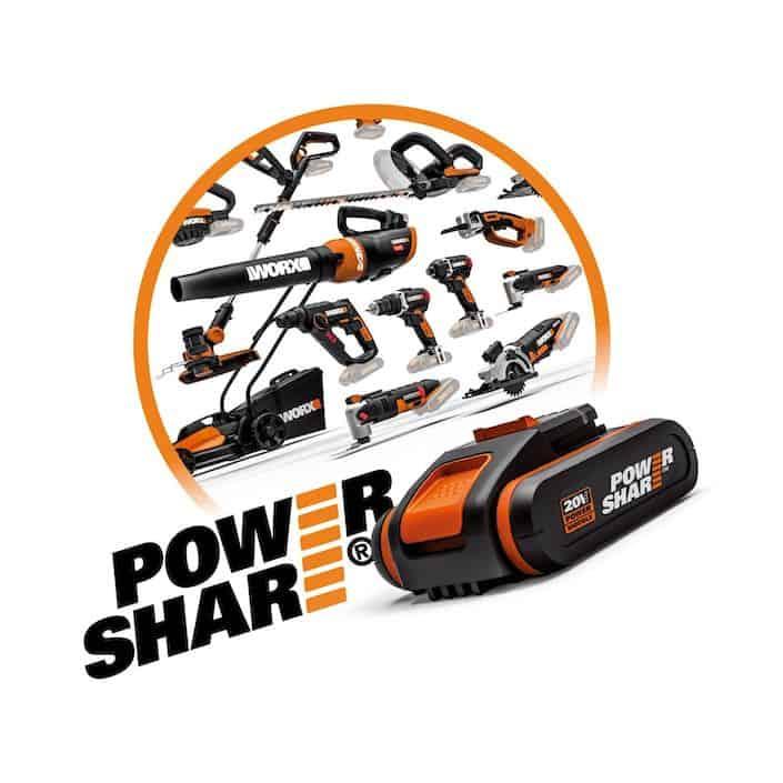 Worx Powershare
