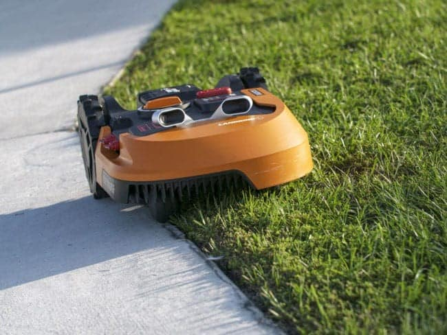 A perimeter wire marks the boundary of your lawn and lets the robot mower know when it's approaching the edge