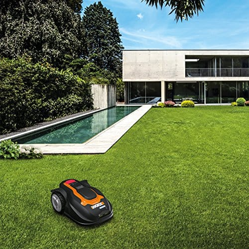 What is a robotic lawn mower?