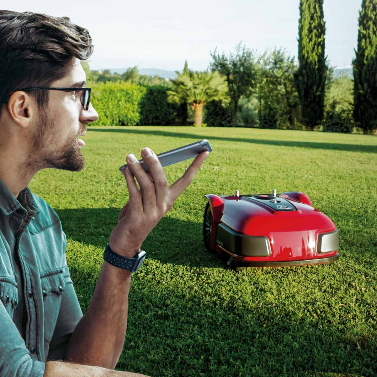 PRO Line Ambrogio Lawn Mower Range