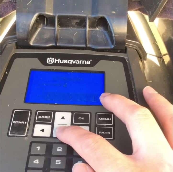 Husqvarna Automower - cutting heights
