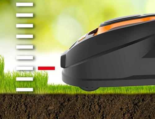 ROBOTIC LAWN MOWER CUTTING HEIGHTS