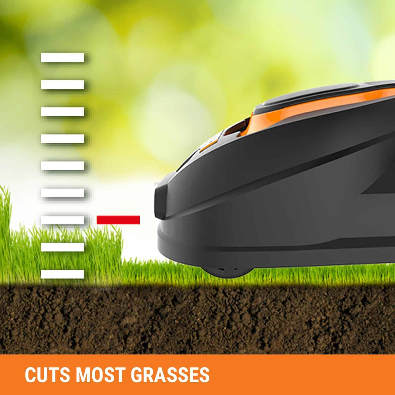 Worx Landroid Robotic Lawn Mower grass cutting height