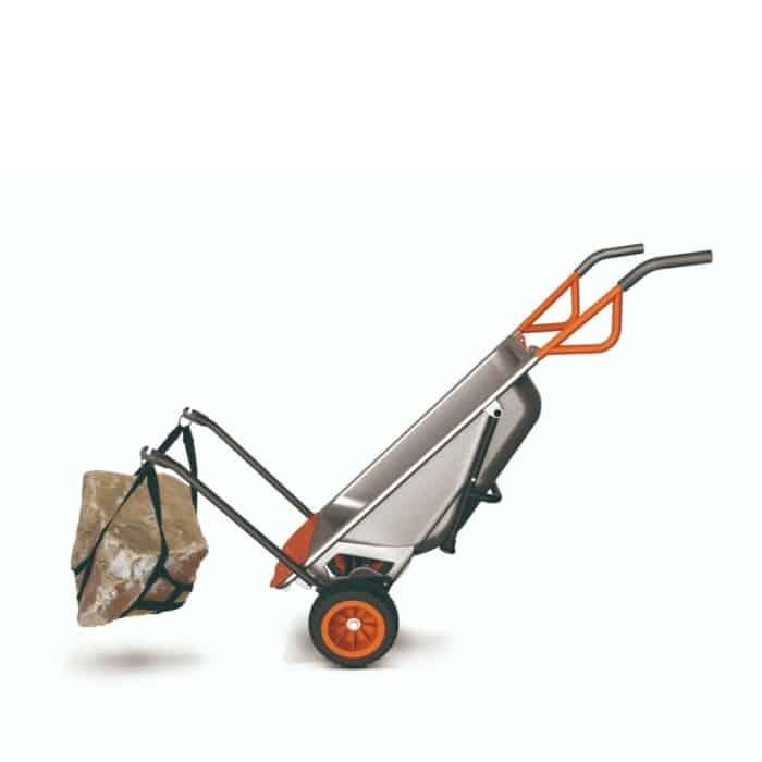 Aerocart 8 in 1 Wheelbarrow rock lifter