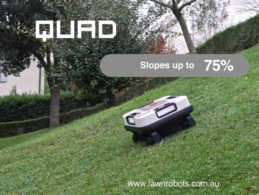 Do Robot Mowers really work on hills and slopes?